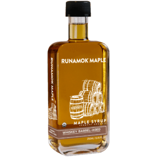 Whiskey Barrel-Aged Maple Syrup by Runamok Maple