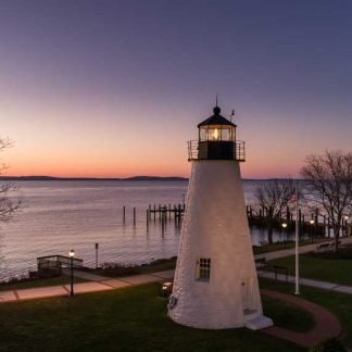 Concord Point Lighthouse, Aglow at Dawn (original)