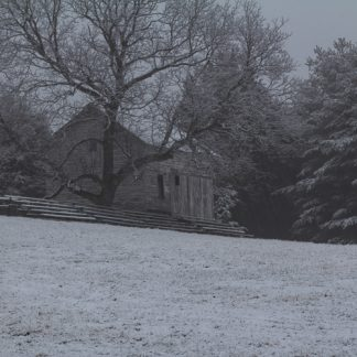 Snowy day at the Steppingstone Farm Museum