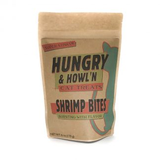 Hungry & Howlin' Shrimp Bites Cat Treats
