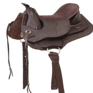 classy western saddle