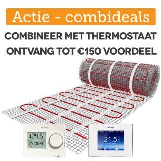 elektrische vloerverwarming mat 150watt