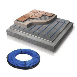 WIS Betonkabel systeem van Warmup (vloerverwarming in beton & tegels)