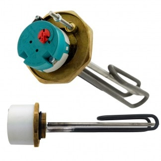 """Joule - 1"""" 3/4"""" 3kW Immersion Heater 14"""" for Unvented Cylinders"""