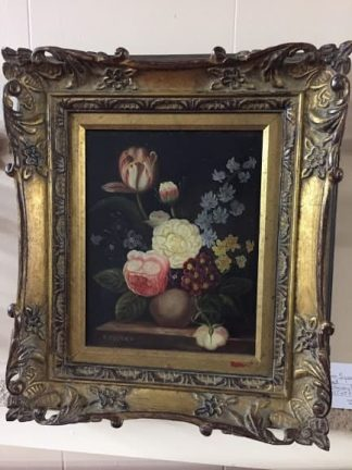 antique oil on canvas