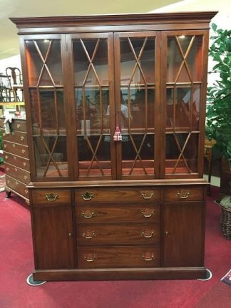 Henkel Harris Lighted China Cabinet