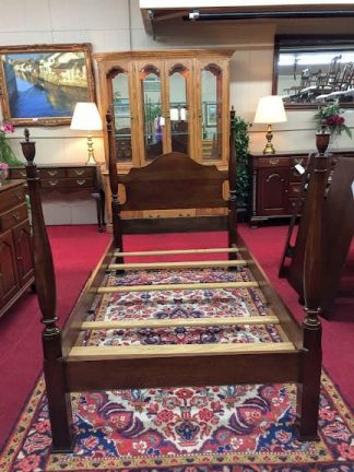 Vintage Cherry Twin Poster Bed
