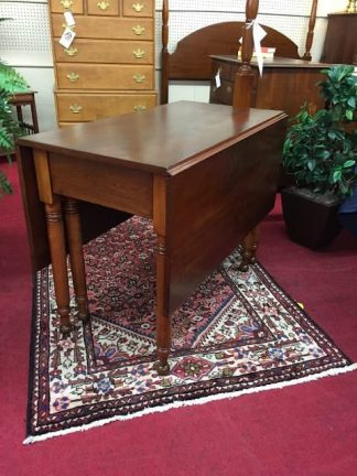 Antique Sheraton Drop Leaf Table