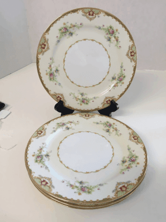 Empress China Dinner Plates (Set of Four)