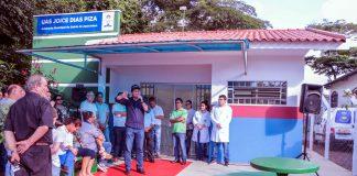 Obra foi executada com recursos próprios do município e a unidade de saúde retoma o atendimento imediato da população