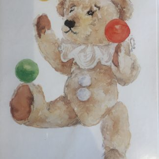The Juggler teddy bear