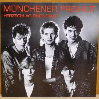 Münchener Freiheit - Herzschlag Einer Stadt (LP, Album)