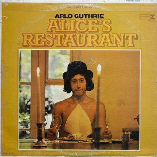Arlo Guthrie - Alice's Restaurant (LP, Album, RP, Pit)