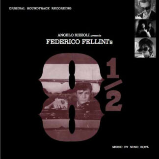 Nino Rota - Federico Fellini's 8½ (LP, RE, 140)