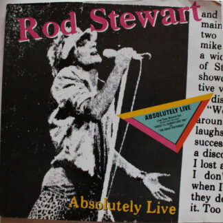 Rod Stewart - Absolutely Live (2xLP, Album, RE, Gat)