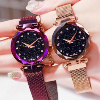 zegarek damski glamour cyrkonie brokat błyszczący lśniący