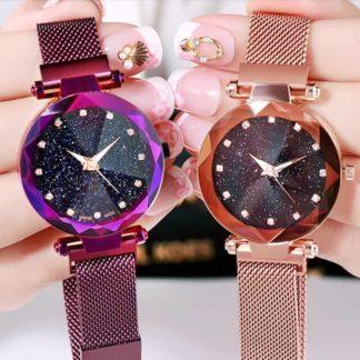 Zegarek damski Glamour Noc Kairu na pasku maganetycznym