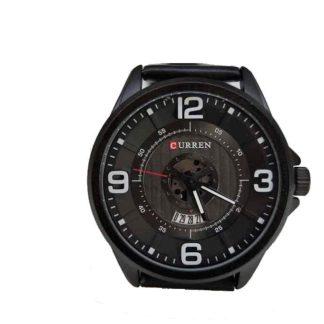 Zegarek męski Curren 8305 z datownikiem czarny