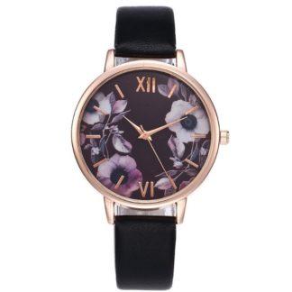 Zegarek damski Floral Kwiaty Róże