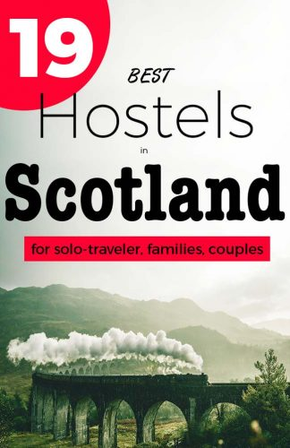 19 Best Hostels in Scotland put on a map - The Guide to Backpacker and Family-Hostels