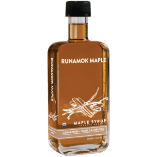 Cinnamon Vanilla Infused Maple Syrup by Runamok Maple