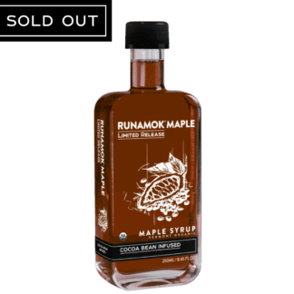 cocoa bean infused sold out