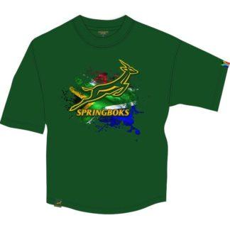 Springbok Mens SS Printed T-Shirt