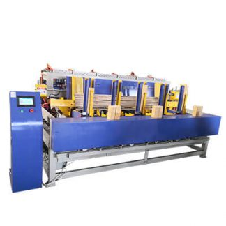 pallet legs nailing machine