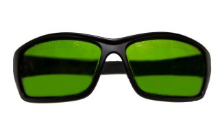 glasses green
