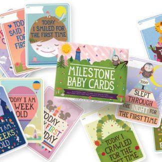 Milestone Baby Card