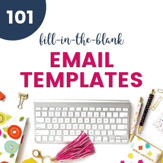 fill-in-the-blank email templates