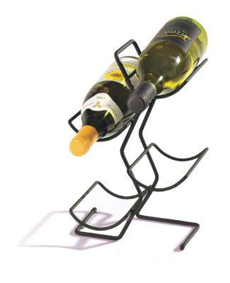Spectrum Diversified 49010 Wine Tree, 4-Bottle, Black