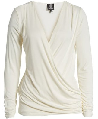 Wrap tops are among the most popular stylish clothes chosen by 40+ women | 40plusstyle.com