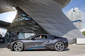 Global Deliveries and Laser Lights for the BMW i8
