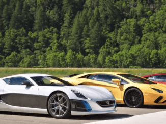 The Grand Tour EV Supercar Drag Race