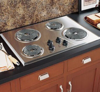 2. GE 30 Electric Cooktop