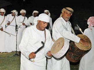 Arabs Dancing