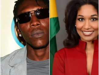 Vybz Kartel and Lisa Hanna