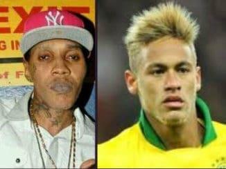 Vybz Kartel and Neymar