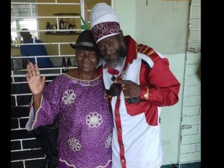 Capleton and his mother