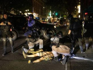 Member of right-wing racist group, Patriot Prayer, killed in Portland rally.