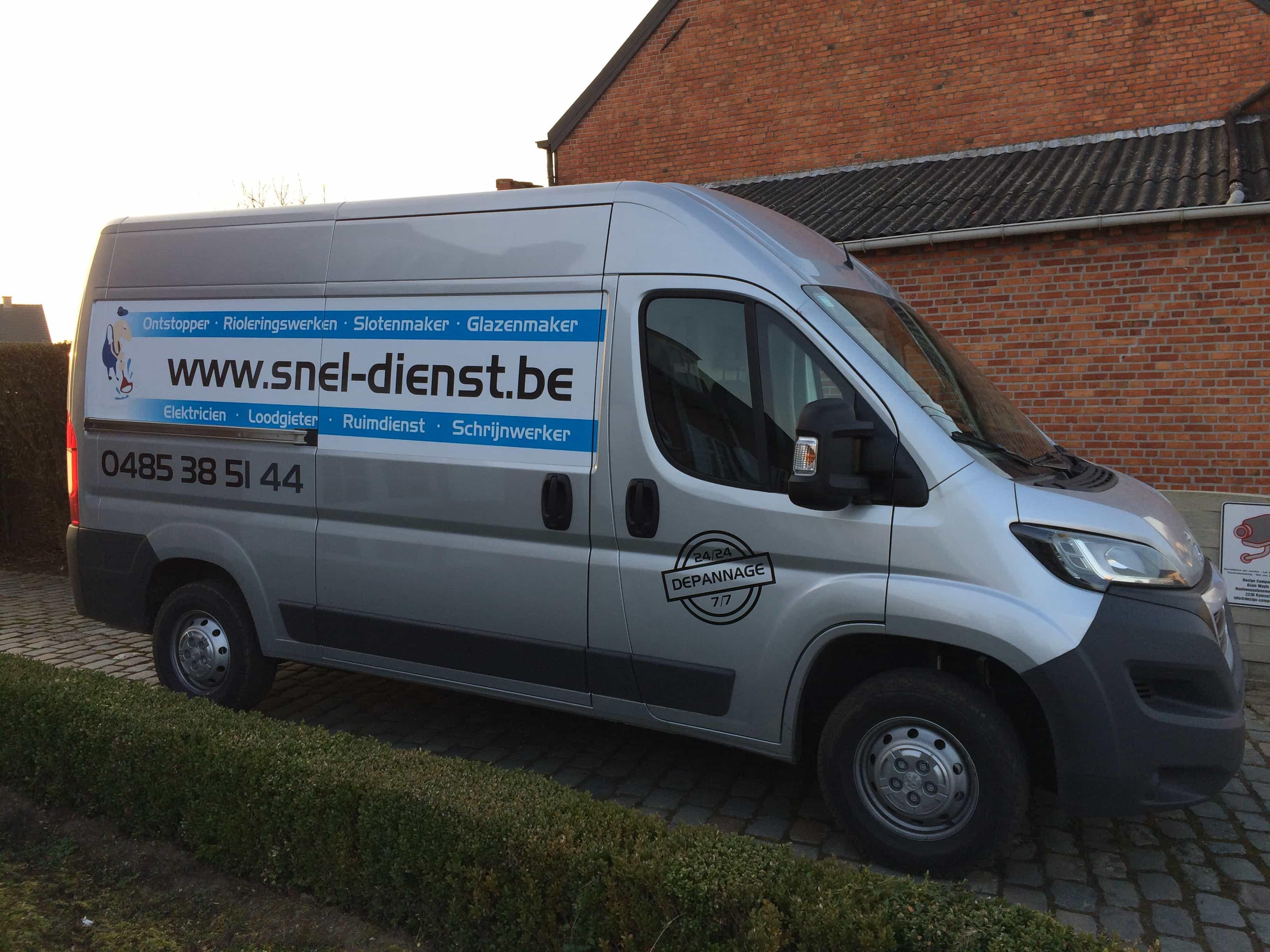 Autobelettering snel-dienst.be