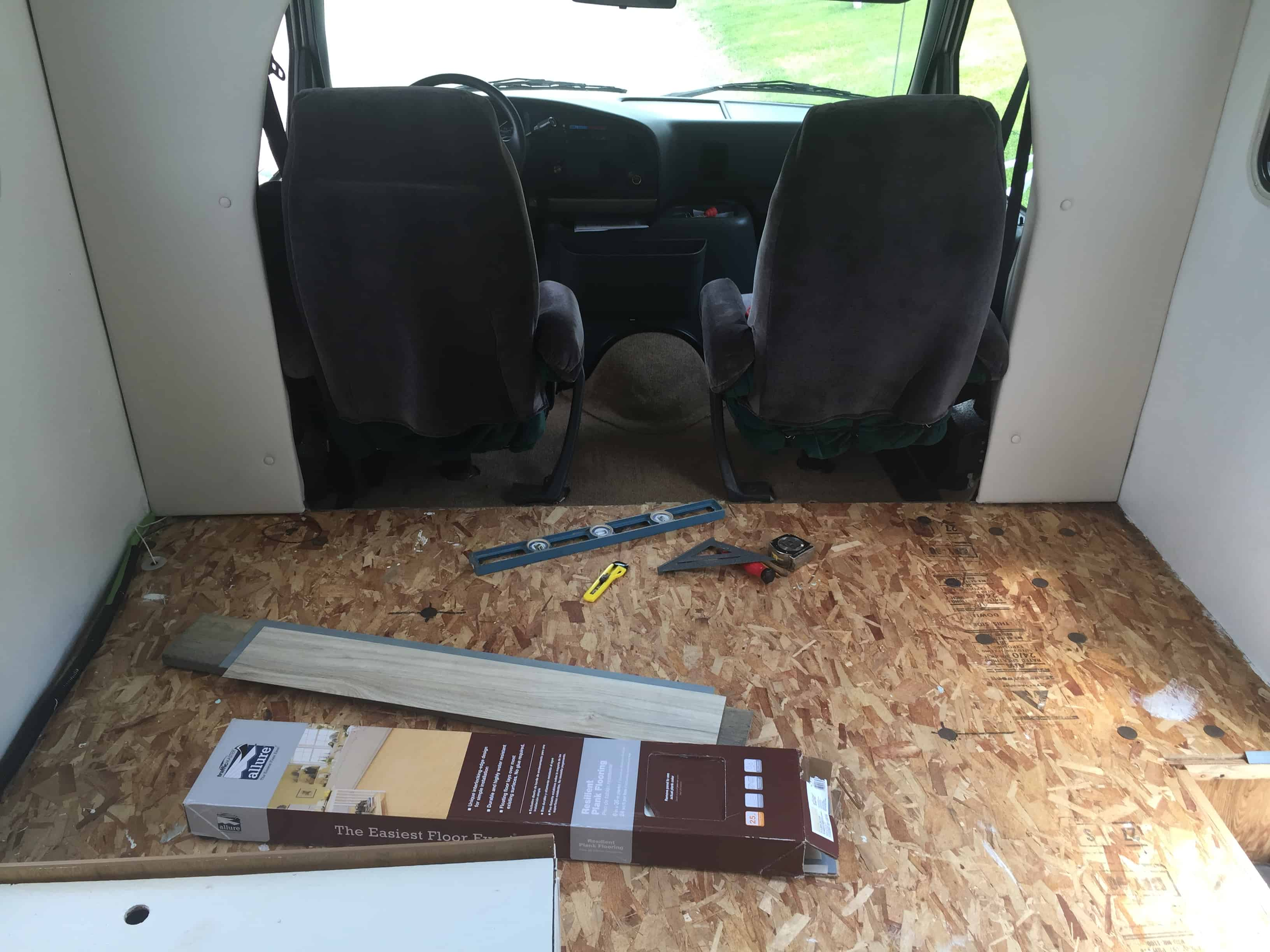 rv carpet to vinyl planks