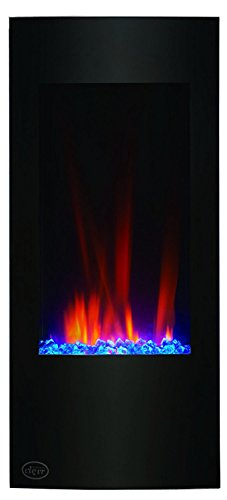 Clevr Vertical Wall Mounted Electric Fireplace Heater Review