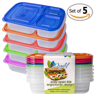 4. Orgalif BPA-Free 3-compartment