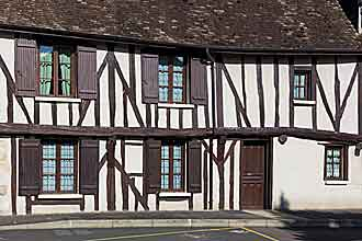 Half-timbered house in Provins