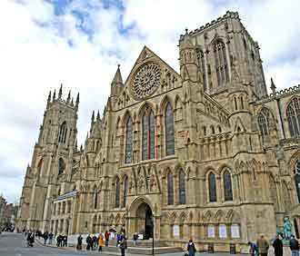 york minster cathedral in York