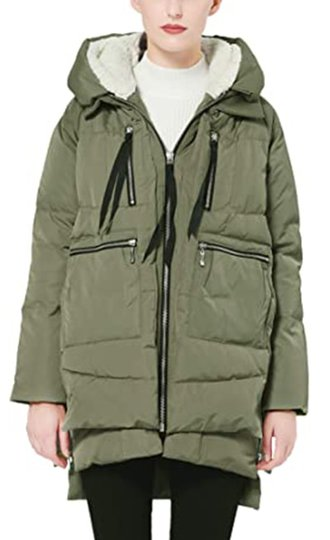 Orolay thickened down jacket | 40plusstyle.com