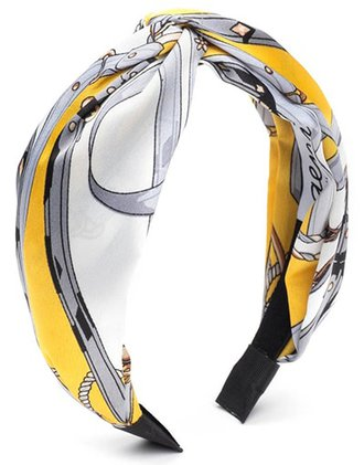 Eugenia Kim print padded headband | 40plusstyle.com