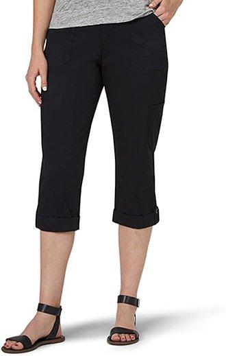 Lee cargo capri pants | 40plusstyle.com